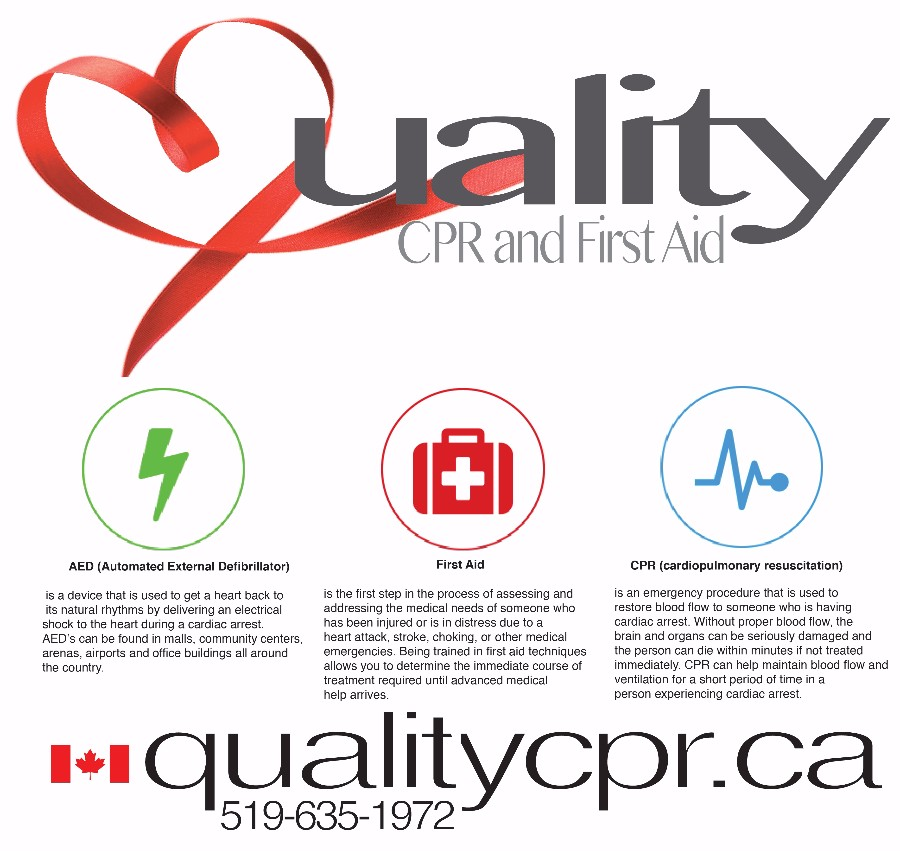 Quality CPR and First Aid