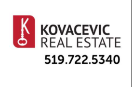 Kitchener Novice White Silver Sponsor ~ Kovacevic Real Estate