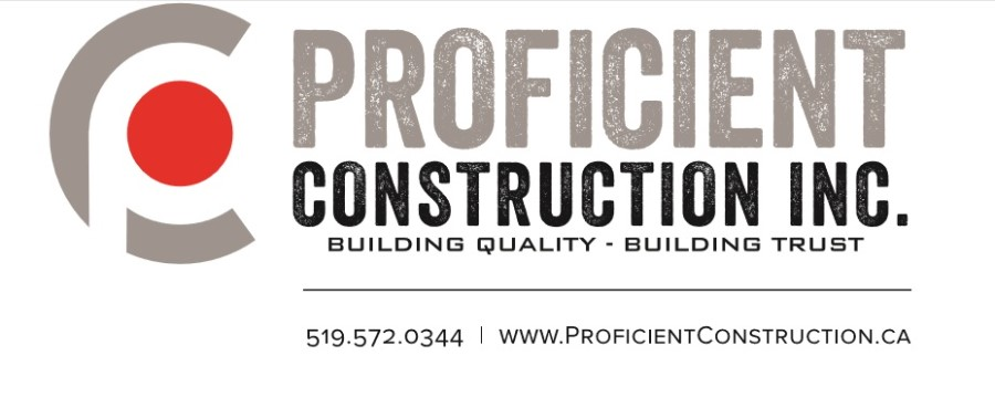 Kitchener Novice White SIlver Sponsor ~ Proficient Construction